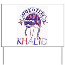 Khalid Shop Yard Sign