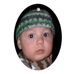 Baby Jack Oval Ornament