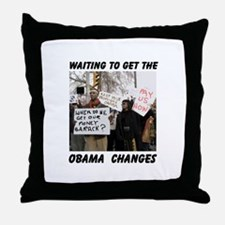 WHAZZUP WIF DA MONEY? Throw Pillow