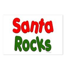 Santa Rocks Postcards (Package of 8)