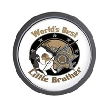Top Dog Little Brother Wall Clock