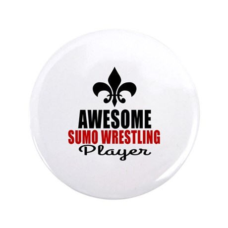 Awesome Sumo Wrestling Player Button