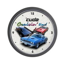 "Cuda 8.5"" Wall Clock"