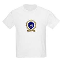 TEMPLE Family Crest Kids T-Shirt