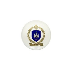 TEMPLE Family Crest Mini Button (10 pack)