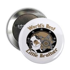 "Top Dog Little Brother 2.25"" Button"