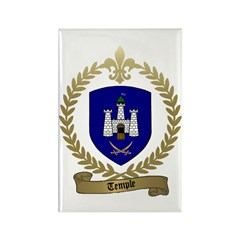 TEMPLE Family Crest Rectangle Magnet (100 pack)