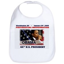 Unique 44th president barack obama Bib