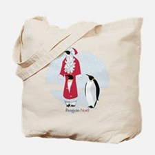 Penguin Noel Tote Bag