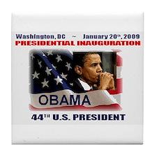 Cute Obama hope Tile Coaster