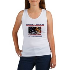 Funny Inauguration pro obama Women's Tank Top