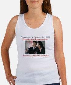 Cute Obama inauguration Women's Tank Top