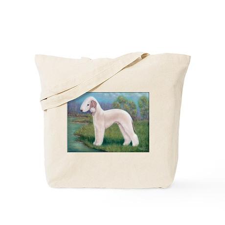 Bedlington (Standing) Tote Bag