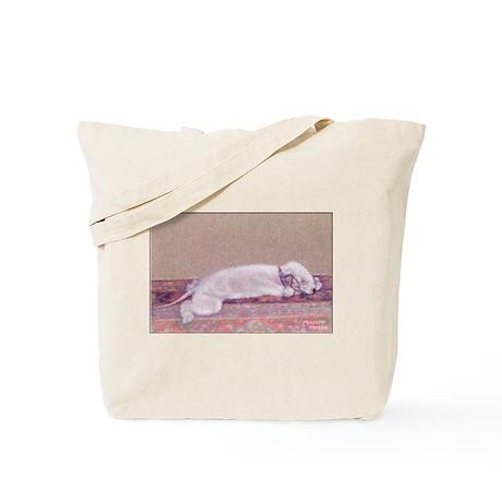 Bedlington-Sweet Dreams Tote Bag