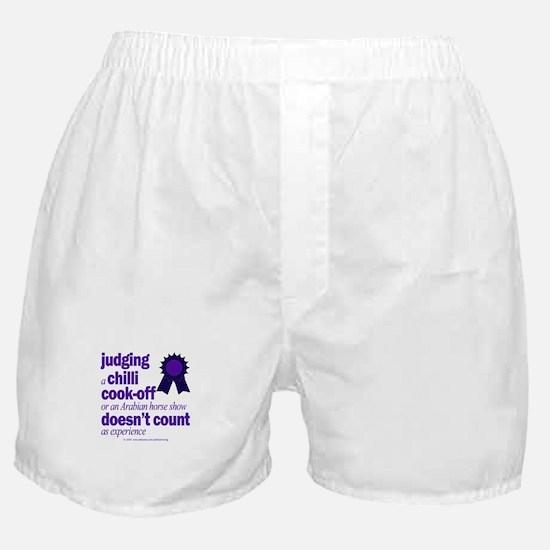 Harriet Meiers, unqualified. Boxer Shorts