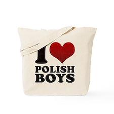 I love Polish Boys Tote Bag