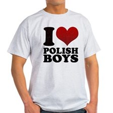 I love Polish Boys T-Shirt