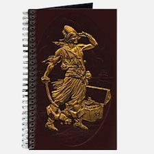 Gold Leaf Pirate Journal