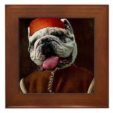 Bulldog BOTTICELLI Framed Tile