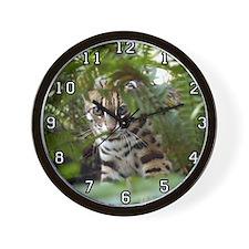 Bengal Cat Wall Clock