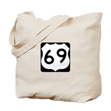 Route 69 Tote Bag