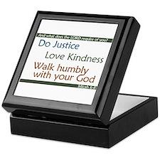 Micah 6:8 Keepsake Box