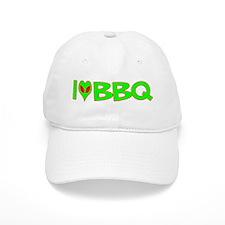 I Love-Alien BBQ Baseball Cap