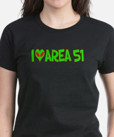 I Love-Alien Area 51 Tee