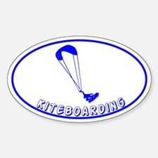 Kiteboarding Kitesurfing Oval Decal