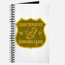 Court Reporter Drinking League Journal