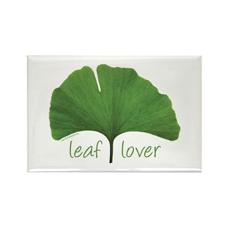 Leaf Lover Rectangle Magnet (100 pack)