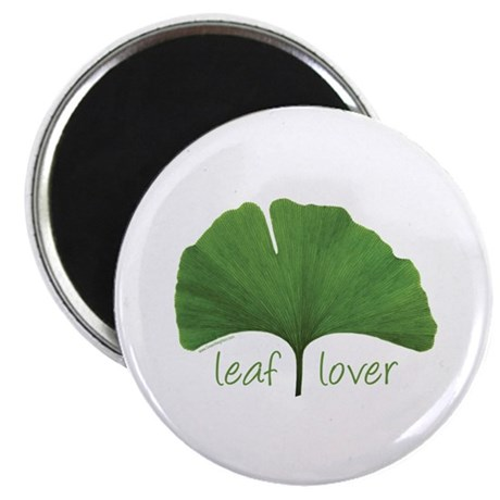 "Leaf Lover 2.25"" Magnet (10 pack)"