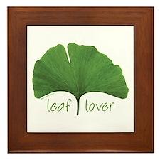 Leaf Lover Framed Tile