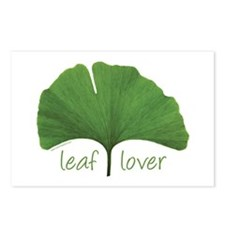 Leaf Lover Postcards (Package of 8)