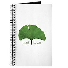Leaf Lover Journal