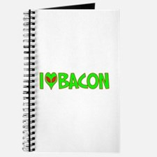 I Love-Alien Bacon Journal