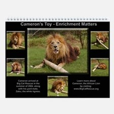 12 Big Cat Collages Wall Calendar