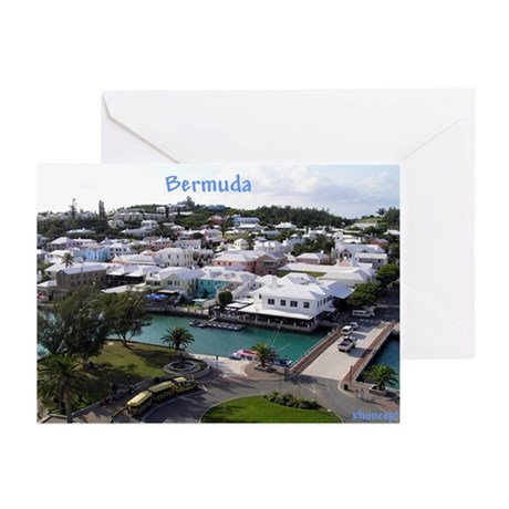 Hamilton, Bermuda Greeting Cards (Pk of 10)