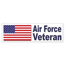 Air Force Veteran Bumper Bumper Bumper Sticker