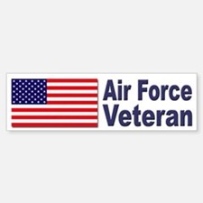 Air Force Veteran Bumper Bumper Bumper Sticker