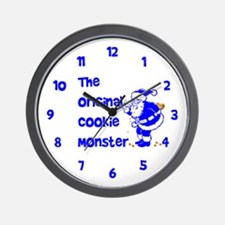 The Original Cookie Monster Wall Clock
