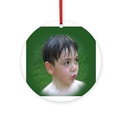 Aidan Ornament (Round)