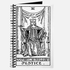 Justice Tarot Card Journal
