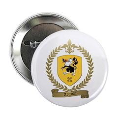 TOUSSIN Family Crest Button