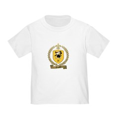 TOUSSIN Family Crest T