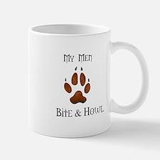 My men Bite & Howl Mug