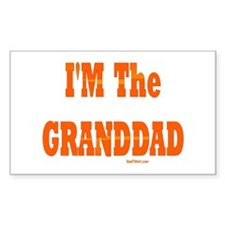 I'm The Granddad Rectangle Decal
