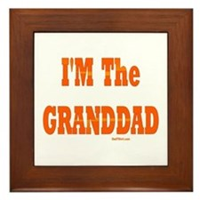 I'm The Granddad Framed Tile