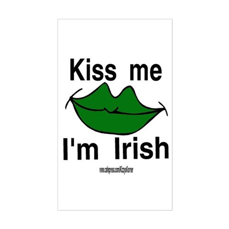 IRISH KISS Rectangle Sticker