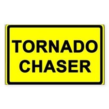 (10 pack) TORNADO CHASER - Bumper/Window Decal